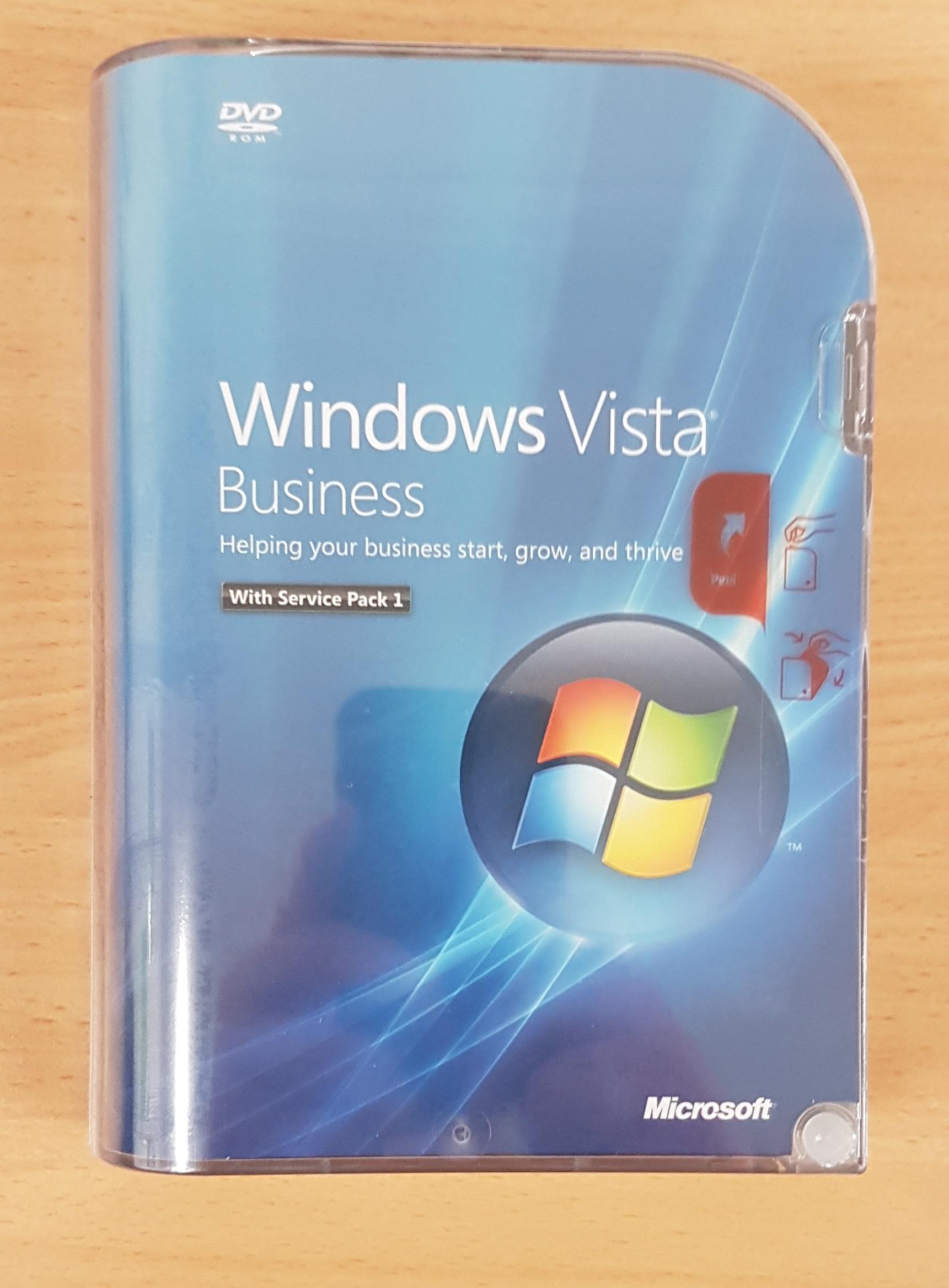 how to upgrade windows vista business